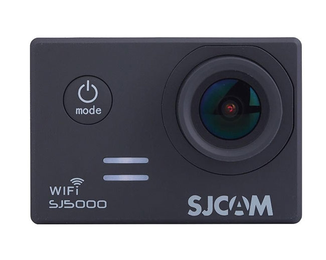 Caméra embarquée SJCAM SJ5000 WiFi - vue de face