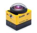 Caméra embarquée 360° SP360 Kodak vue de côté