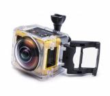 Caméra embarquée 360° SP360 Kodak - Extreme pack dans le caisson