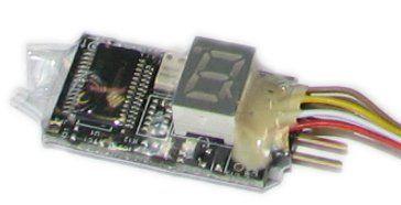 Capteur accéléromètre G-Force 38G 3 axes