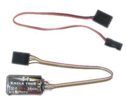 Capteur accéléromètre G-Force 7G 3 axes