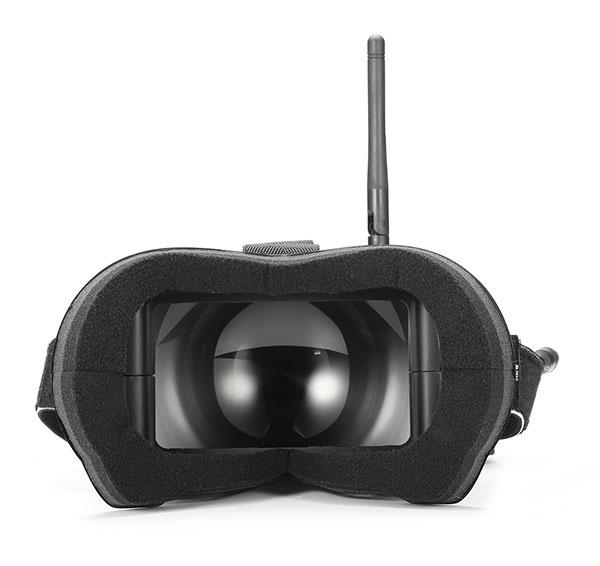 Casque vidéo FPV Eachine VR-007 vue face à l\'écran