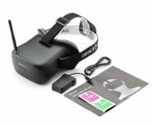 Casque FPV Eachine VR-007 avec notice, batterie et câble de recharge
