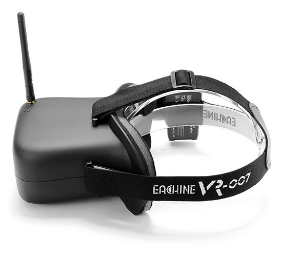 Casque FPV Eachine VR-007 - vue de côté