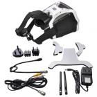 Casque vidéo FPV Skyzone SJ-V01 Raceband avec câbles, antennes et adaptateurs secteur
