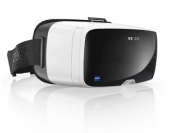 Casque vidéo FPV Zeiss VR One vu de biais