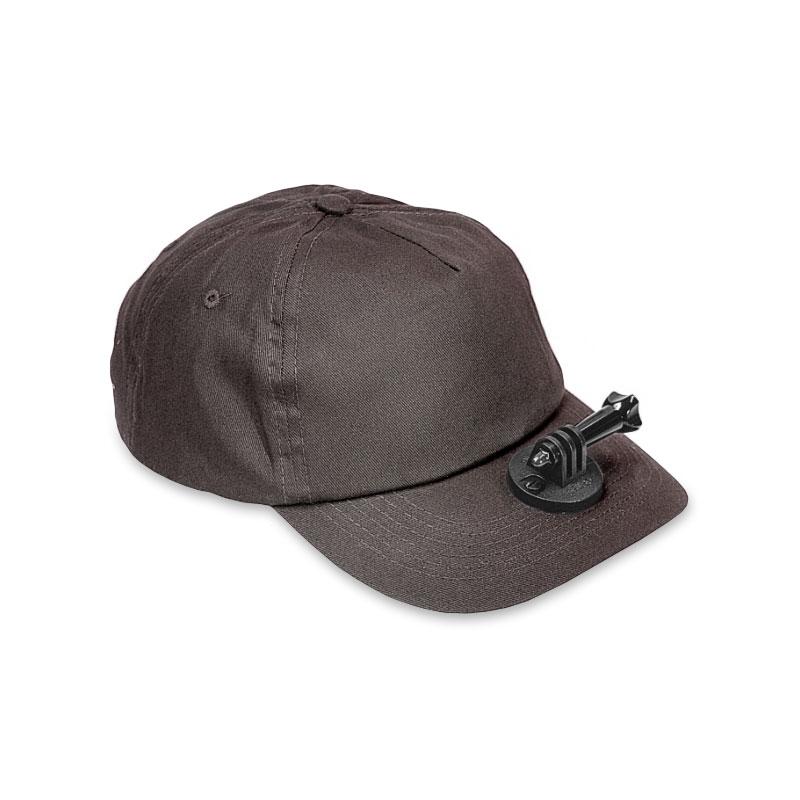 Casquette de chasse Vidéo-Cap grise pour GoPro