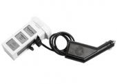 Chargeur allume-cigare connect� � la batterie DJI Phantom 3