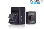 Chargeur double pour GoPro