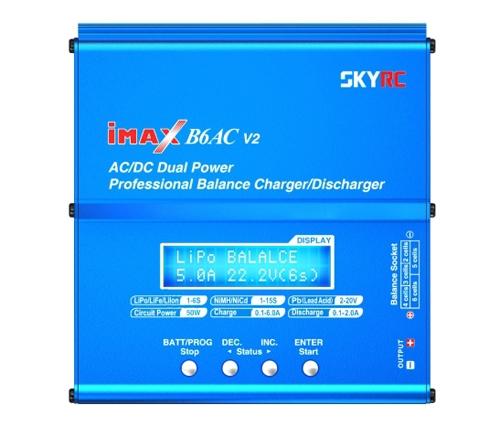 Un écran permet de choisir les options de chargement de la batterie.