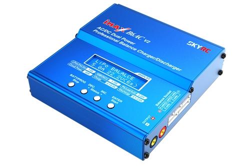 Ce chargeur est idéal pour recharger vos lipos de 2 à 6 S. Il peut également se piloter par PC ou Smartphone.
