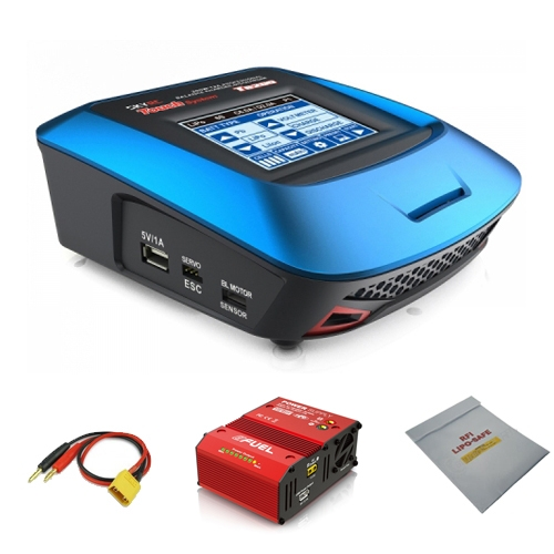 Starter Pack Chargeur SkyRC T6200 200W