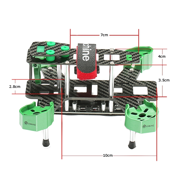 Dimension Châssis Eachine Falcon 180