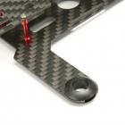 Châssis Eachine Nano 130mm vue détaillée du support moteur