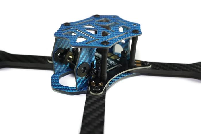 Châssis SCX200 Cobalt vue de trois quart
