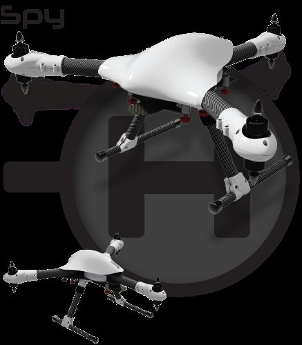 Châssis Tricoptère Sky-Hero Spy 900mm