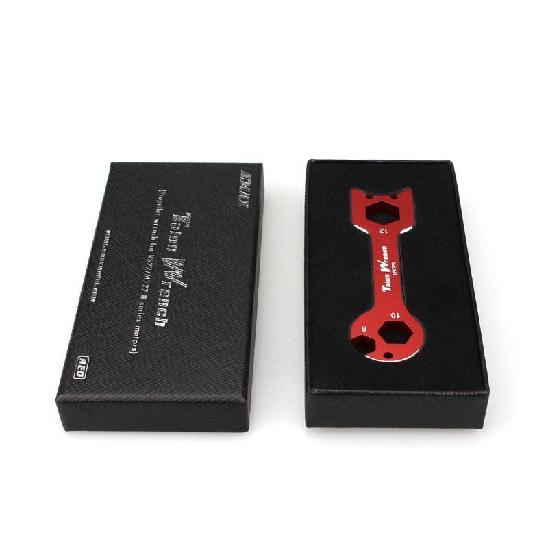 Clé pour moteurs Emax MT22/RS22 rouge dans sa boite