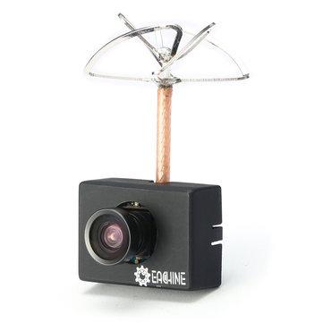 Combo Caméra/Emetteur Eachine MC01 5.8G 40CH 25MW vue de trois quart