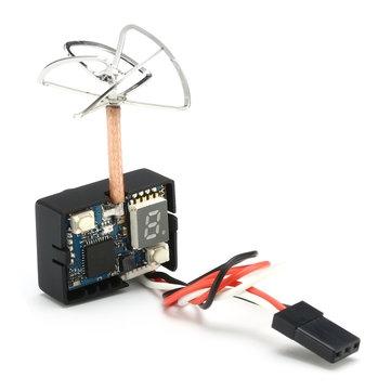 Combo Caméra/Emetteur Eachine MC01 5.8G 40CH 25MW vue de dos avec son câble