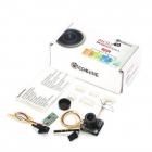 Combo Caméra/Emetteur Eachine MC02 5.8G 40CH 25/200MW Contenu de la boite