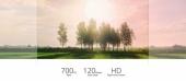 Comparaison d\'image avec une caméra FPV et celle du Walkera F210 3D RTF à 120°