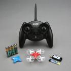 Contenu de l'Inductrix RTF : drone, radiocommande, chargeur USB, batterie...