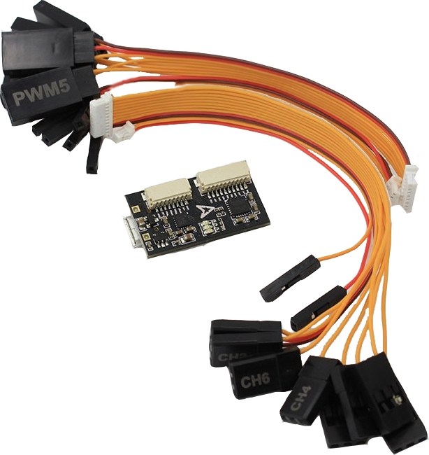 Controleur de vol Emax Skyline32 mini acro avec les câbles de raccordement