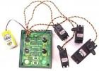 Contrôleur/enregistreur de séquence 4 servos