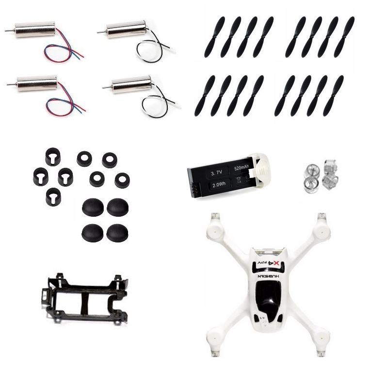 Crash kit pour Hubsan H107D+