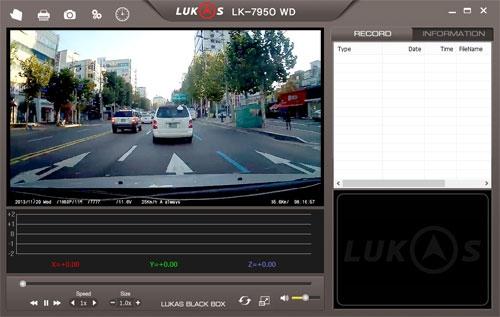 Dashcam Lukas LK-7950 WD