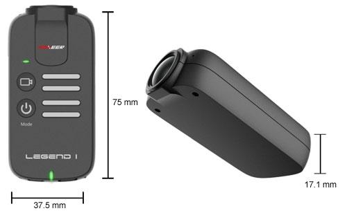 Avec cette caméra de petite taille, vous pourrez filmer vos vols en immersion et même prendre des photos.