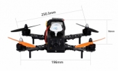 Drone Racer Flysight Speedy F250 - dimensions