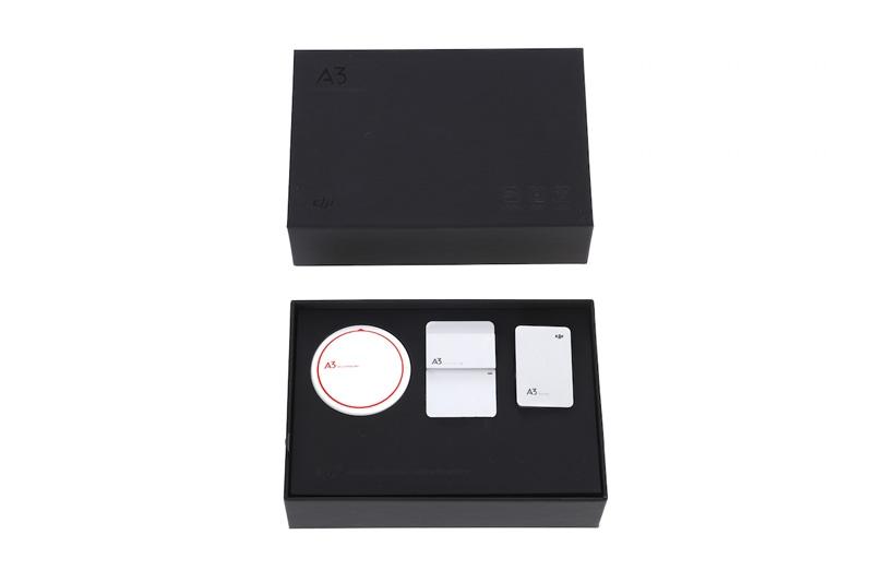 Système de stabilisation GPS DJI A3 dans son packaging