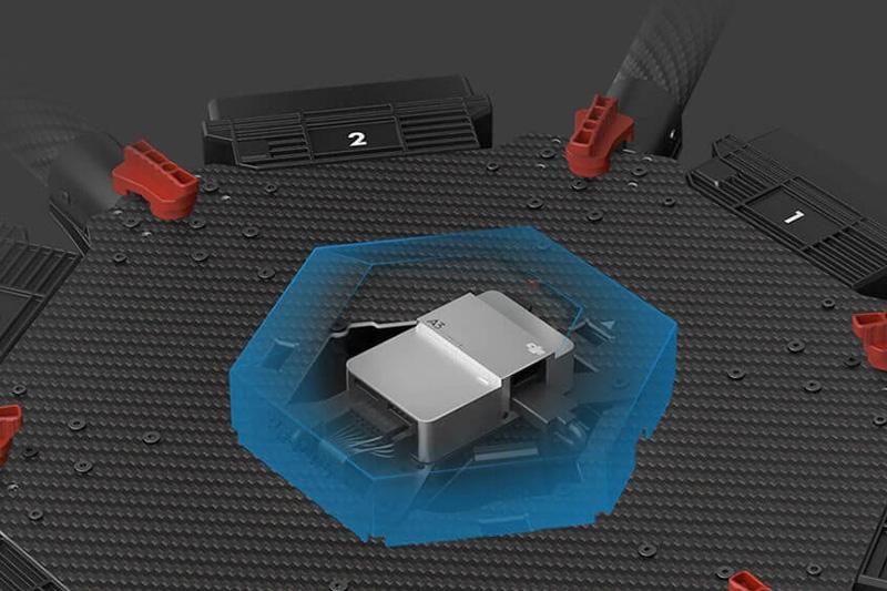 Contrôleur de vol DJI A3 - le cœur du système M600