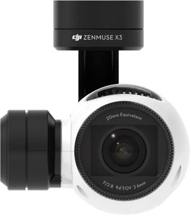 Caméra et nacelle zenmuse x3