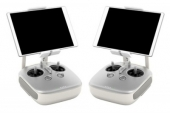 L\'inspire 1 RAW propose comme son prédécesseur un contrôle à distance du drone et de sa caméra via l\'application DJI GO et deux radiocommandes