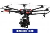 DJI M600 homologué S1 et S2