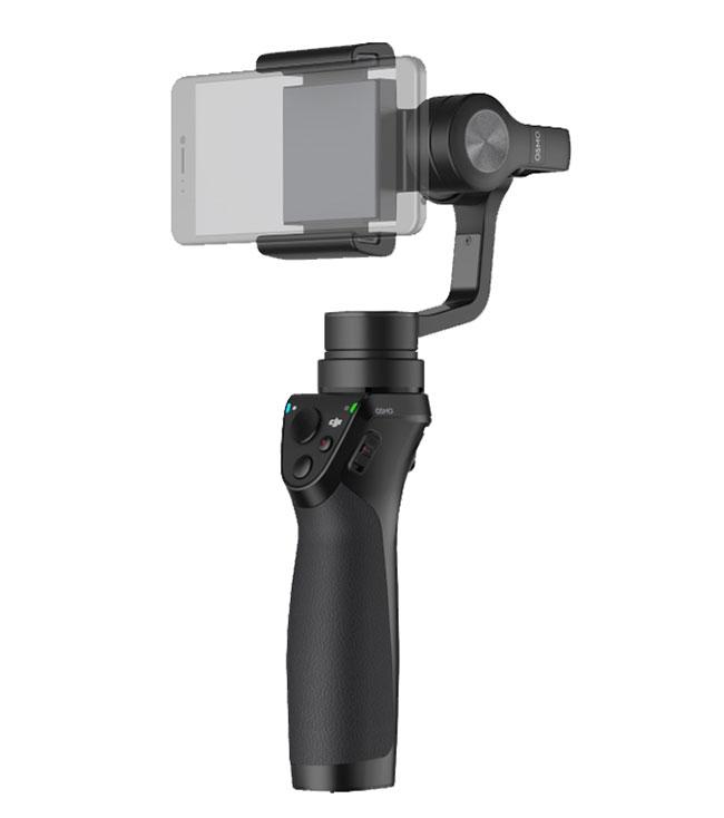 DJI Osmo mobile - stabilisateur 3 axes pour smartphone et iPhone - vue d'ensemble