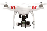 "DJI Phantom 2 ""upgraded\"" V2.0 et Zenmuse H4-3D"