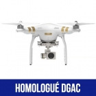 DJI Phantom 3 Professional homologué S1, S2 & S3