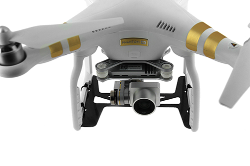 Protection carbone pour nacelle DJI Phantom 3