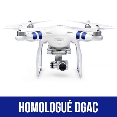 DJI Phantom 3 Standard homologué S1, S2 & S3