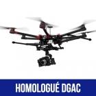 DJI S900 homologué S1, S2 et S3 (A3 Pro)