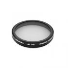 Ce filtre circulaire polarisant pour DJI Zenmuse X5 & X5R diminue les reflets et rehausse les couleurs.