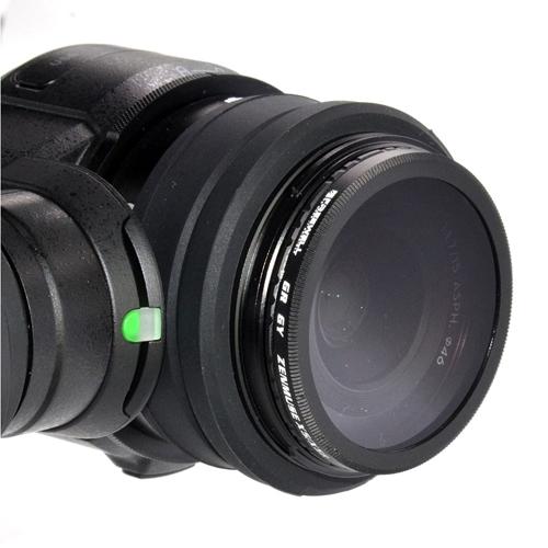 Ce filtre se visse très simplement sur la X5 ou X5R pour obtenir de magnifiques photos avec votre DJI Inspire 1.