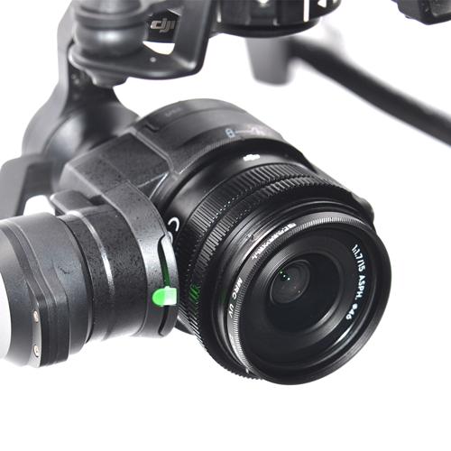 Le filtre UV pour DJI Zenmuse X5 & X5R diminuera l\'excès de bleu de vos images en supprimant les UV.