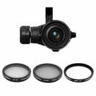 Pack de 3 filtres pour DJI Zenmuse X5 & X5R très complet pour optimiser vos prises de vues aériennes.
