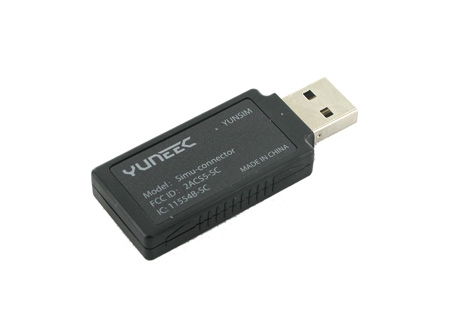 Dongle USB Yuneec Yunsim pour simulateur UAV-Pilot