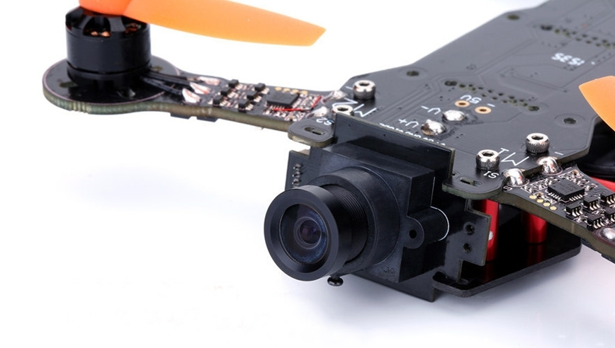 Drone de course DYS X160 équipé d'une caméra CMOS