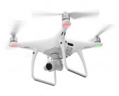 Drone de remplacement DJI Phantom 4 Pro (sans radio) - vue en vol